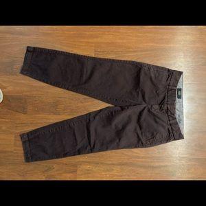 J.crew ladies scout cropped chino pants size 00